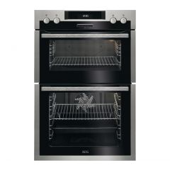 Aeg DCS431110M Stainless Steel Built In Double Oven