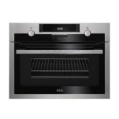 Aeg KME561000M St. Steel Combiquick Compact Built-In Oven And Microwave