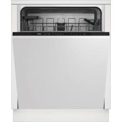 Beko DIN15C20 Fully Intergrated Dishwasher Full Size