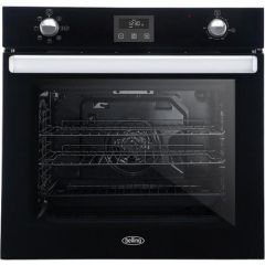 Belling BI602FPCTBLK Black Built In Electric Single Oven