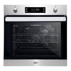 Belling BI602MFPY Black And St/St 60Cm Built-In Multifunction+™ Oven With 73L Gross Capacity With Py