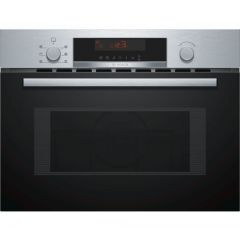 Bosch CMA583MS0B Black And St/St Serie | 4 Built-In Microwave Oven With Hot Air60 X 45 Cm Stainless