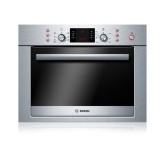 Bosch HBC84E653B Brushed Steel Compact Microwave Combination Oven