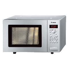 Bosch HMT75M451B Brushed Steel 17 Litre Microwave - Stainless Steel
