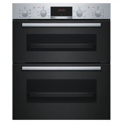 Bosch NBS113BROB Stainless Steel Electric Built-Under Double Oven - Stainless Steel