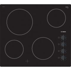 Bosch PKE611CA1E 4 Zone Ceramic Hob With Dial/Knobs