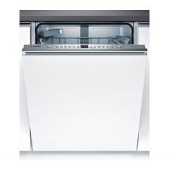 Bosch SMV46JX00G Silver Control Fully Integrated Dishwasher 60 Cm - Full Stainless Steel Tub - Cutle