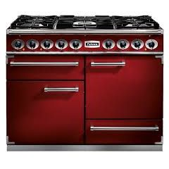 Falcon 87030 Cherry Red 1092 Deluxe Dual Fuel