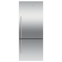 Fisher Paykel E442BRXFD4 Stainless Steel Series Frost Free Fridge Freezer Right Hand Hinge Flat Door