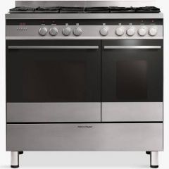 Fisher + Paykel OR90L7DBGFX1 Stainless Steel Range Cooker, 90Cm, Dual Fuel