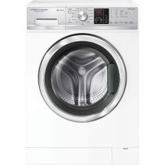 Fisher + Paykel WD8060P1 White 8.5/5 Kg Steam Pump Washer Dryer