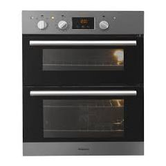 Hotpoint DU2540IX Stainless Steel Built Under Double Oven