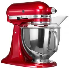 Kitchen Aid KSM150BCA Candy Apple Artisan Mixer