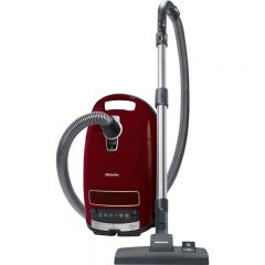 Miele COMPLETE C3 PURE Red Cylinder Vacuum Cleaner -