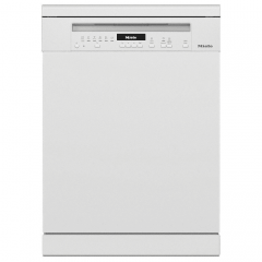 Miele G7110SC BW Brilliant White 60Cm Wide Freestanding Dishwasher With Autodos Cutlery Tray And Qui
