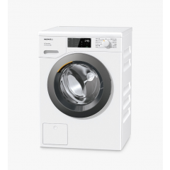 Miele WED325 White Freestanding Washing Machine, 8Kg Load, 1400Rpm Spin, With Powerwash