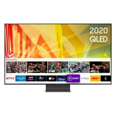 Samsung QE55Q95TATXXU Black 55` 4K HDR10 QLED Smart TV with Anti-Reflection Screen & Voice Assistant