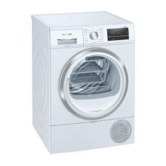 Siemens WT47RT90GB White 9Kg Self Cleaning Condencer Dryer