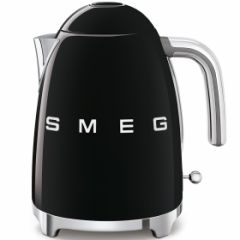 Smeg KLF03BLUK Black Retro Kettle