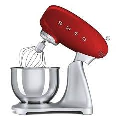 Smeg SMF01RDUK Red 50S Style Stand Mixer
