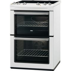 Double Oven With A Grill Ceramic Hob With Four Cooking Zones
