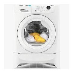 Zanussi ZDC8203WZ White Condenser Tumble Dryer 8Kg Extra Large Door