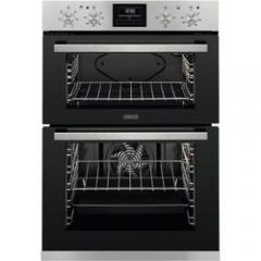 Zanussi ZOA35660XK Stainless Steel Built In Double Oven