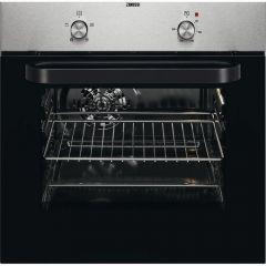 Zanussi ZZB30401XK Stainless Steel Single Convection Oven